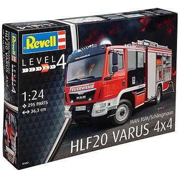 Revell Plastic ModelKit auto 07452 - Schlingmann HLF 20 (MAN TGM Euro 6) (4009803074528)