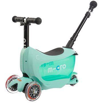 Micro Mini2go Deluxe Plus zelená (7640108563309)