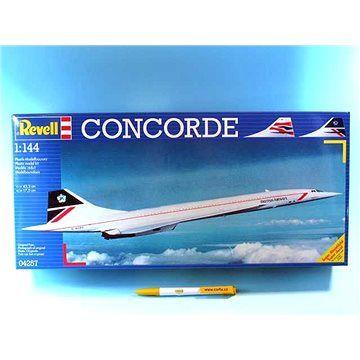 "Revell Plastic ModelKit letadlo 04257 - Concorde ""British Airways"""