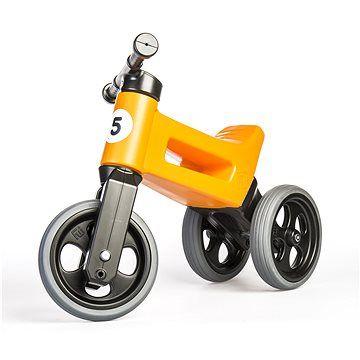 Odrážedlo FUNNY WHEELS Rider Sport oranžové 2v1 (8595557508540)