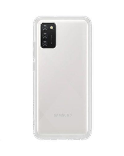 Samsung Poloprůhledný zadní kryt A02s Transparent