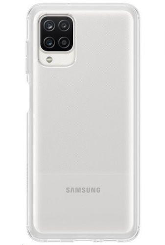 Samsung Poloprůhledný zadní kryt A12 Transparent