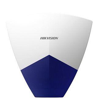 HIKVISION DSPSGWO 868MHz venkovní siréna bezdrátová (obousměrná komunikace), modrobílá