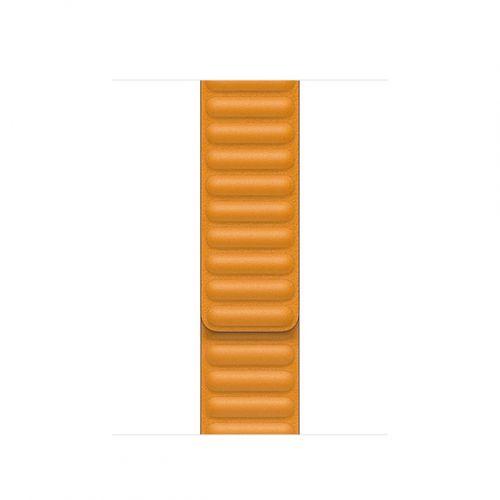 Apple Watch Acc/40/California Poppy Leather Link-Sm MY9D2ZM/A