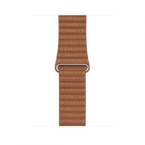 Řemínek Apple Watch Acc/44/Saddle Brown Leather Loop