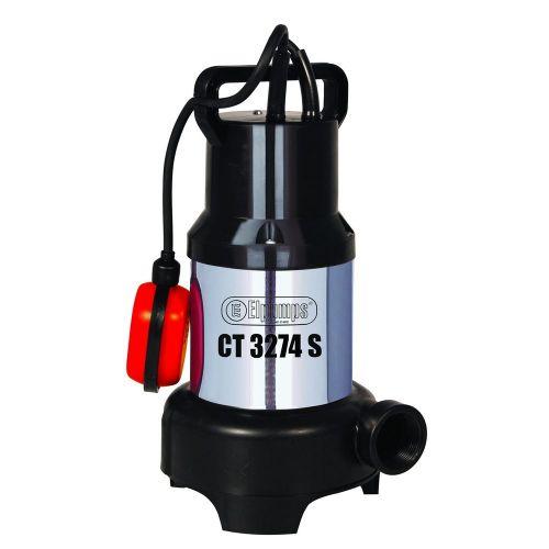Elpumps CT 3274 S - univerzální ponorné kalové čerpadlo
