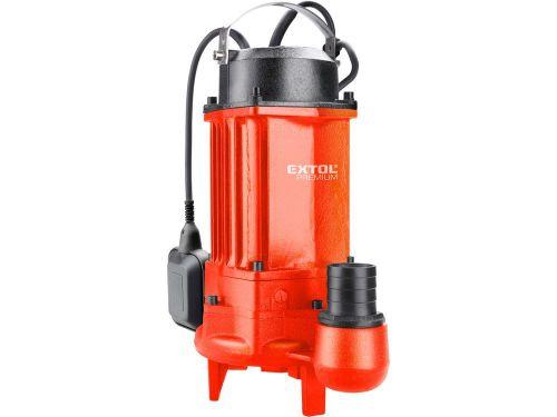 EXTOL PREMIUM 8895041 - čerpadlo ponorné kalové s řezacím hlavou