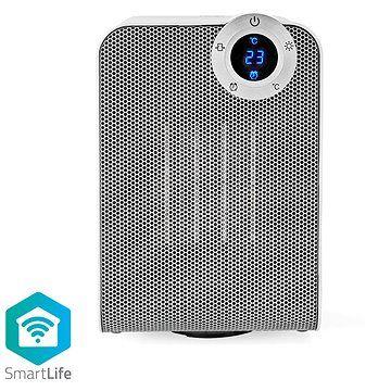 NEDIS Wi-Fi chytrý ventilátor s topným tělesem