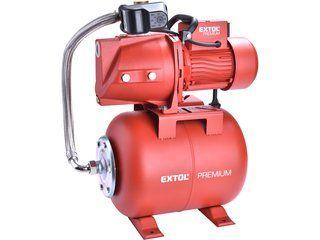 Čerpadlo proudové s tlakovou nádobou 750W EXTOL PREMIUM