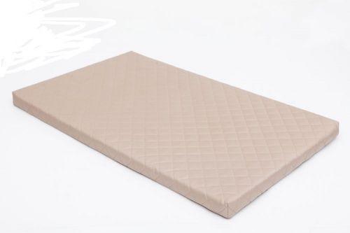 HobbyDog Matrace pro psa Delux - béžová Velikost: XL - 81 x 50 x 3,5 cm