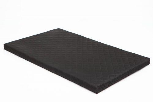 HobbyDog Matrace pro psa Delux - černá Velikost: XL - 81 x 50 x 3,5 cm