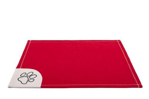 HobbyDog Deka pro psy - červená Velikost: L - 140 x 100 cm