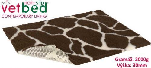 Vetbed protiskluz/Drybed Žirafa Velikost: 75 x 100 cm