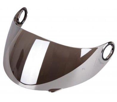 Stříbrně iridiové plexi pro přilbu Street Racer SR V1