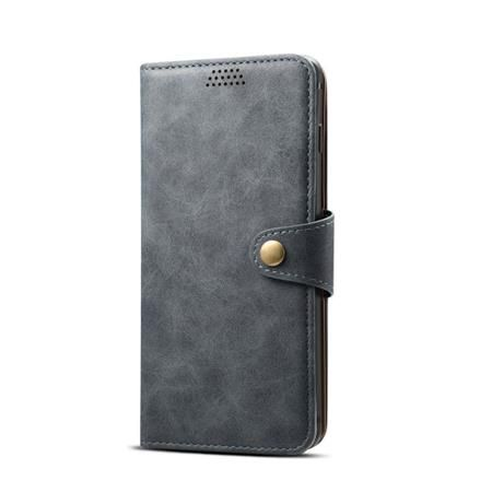 Xiaomi Lenuo Leather na iPhone X/Xs, šedá