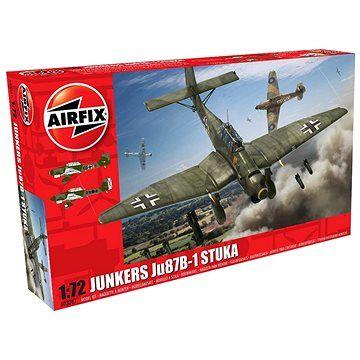 AirFix Classic Kit letadlo A03087 - Junkers JU87 Stuka - nová forma