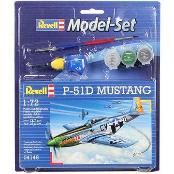 Revell ModelSet letadlo 64148 - P-51D Mustang