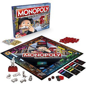 Hasbro Monopoly pro všechny, kdo neradi prohrávají