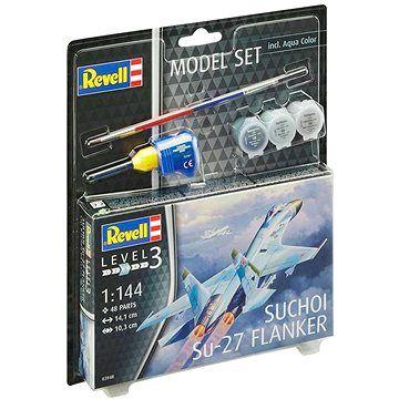 Revell ModelSet letadlo 63948 - Suchoi Su-27 Flanker