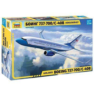 Zvezda Model Kit letadlo 7027 - Boeing 737-700/C-40B
