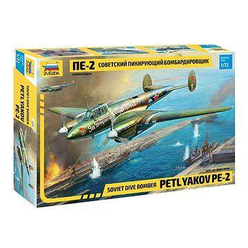 Zvezda Model Kit letadlo 7283 - Petlyakov Pe-2