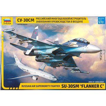 """Zvezda Model Kit letadlo 7314 - Sukhoi SU-30 SM """"Flanker C"""""""