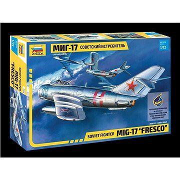 """Zvezda Model Kit letadlo 7318 - MIG-17 """"Fresco"""""""