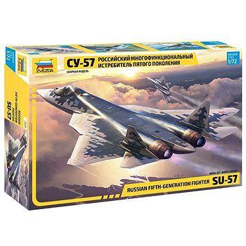 Zvezda Model Kit letadlo 7319 - Sukhoi SU-57