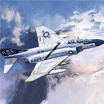 "Academy Model Kit letadlo 12529 - USN F-4J ""VF-84 Jolly Rogers"""