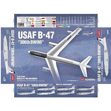 Academy Model Kit letadlo 12618 - USAF B-47