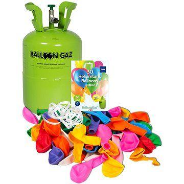 BalloonGaz Helium na 30 balónků, jednorázová nádoba (+30 balónků)