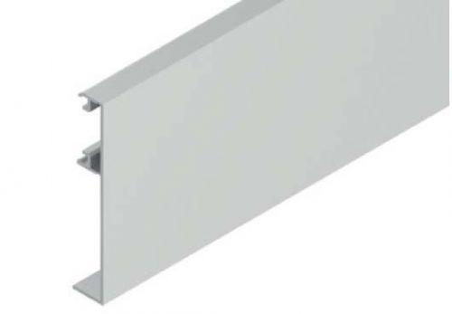 Solido Krycí klipový profil pro skleněné dveře 1 m, hliník nereze efekt