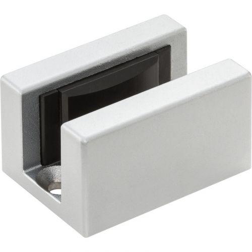 Solido Podlahové vedení pro sklo, hliník nerez efekt