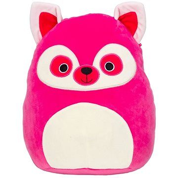 Squishmallows Růžový lemur - Lucia, 30 cm