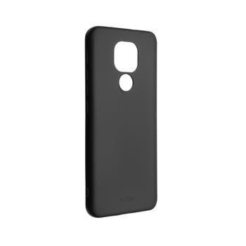 Kryt FIXED Story Motorola Moto E7 Plus, černý