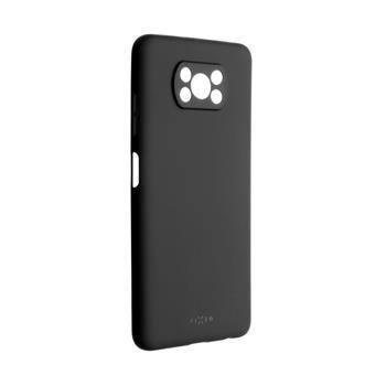 Kryt FIXED Story Xiaomi Poco X3, černý
