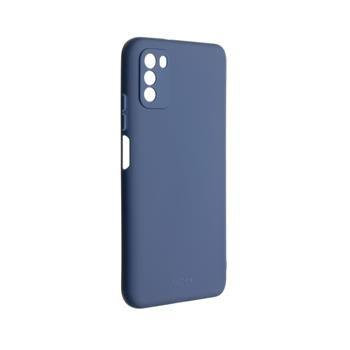 Kryt FIXED Story Xiaomi Poco M3, modrý