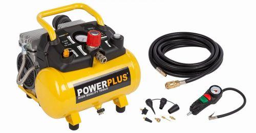 Powerplus Kompresor SILENT 550W 6L