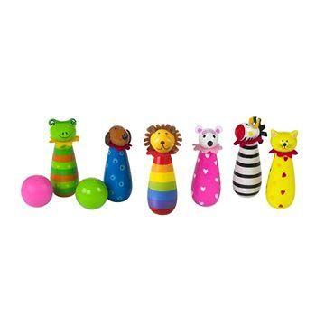 Orange Tree Toys Kuželky- Zvířátka
