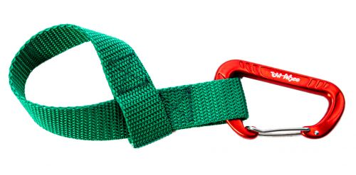 Towwhee Towhee Quick Loop s karabinou, zelená