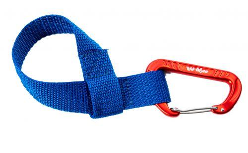 Towwhee Towhee Quick Loop s karabinou, modrá