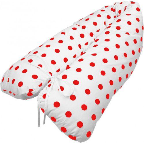 EMI Těhotenský polštář Lulu červený 155x20