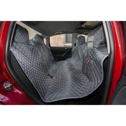 Reedog ochranný potah do auta pro psy na zip - šedý Velikost: M