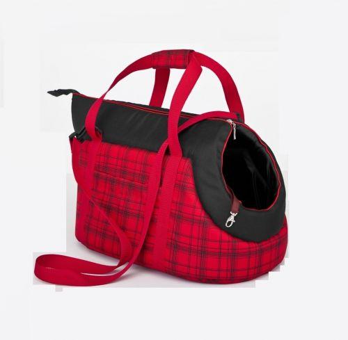 Taška pro psa Reedog Torby Red Strips Velikost: S