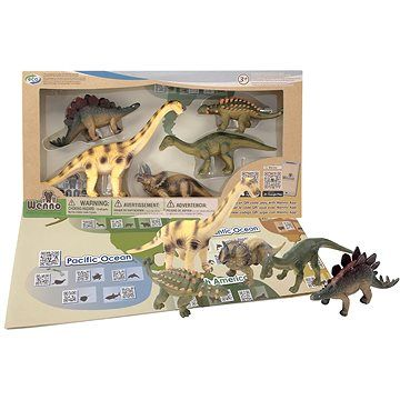 Imaginarium Dinosaurus a diplocodus, sada a aplikace