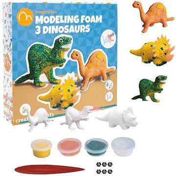 Imaginarium Modelovací sada, 3 dinosauři