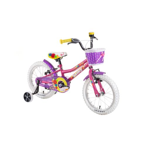 """Dětské kolo DHS Daisy 1604 16"""" - model 2019 Pink"""