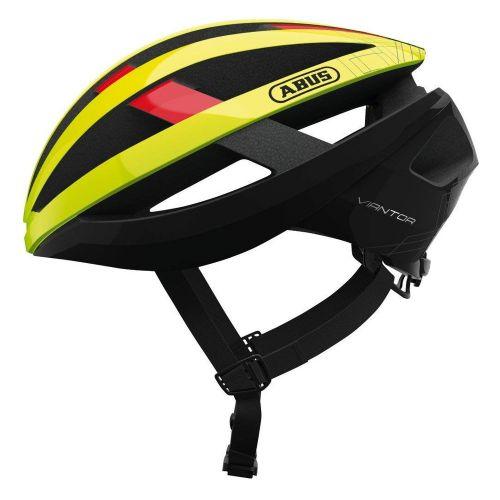 Cyklo přilba Abus Viantor, Neon žlutá, 2020 L