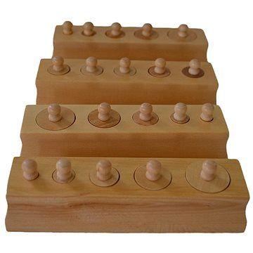 Moyo Montessori Válečky s úchyty - zmenšená verze
