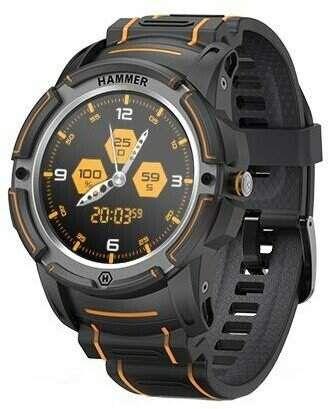 Myphone Hammersmith Watch oranžovo-černé